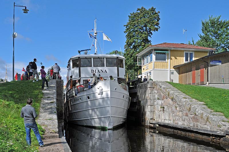 Gøta kanal, 5 mil från Brunsbo Gästgiveri, Hotell och Biskopsgård